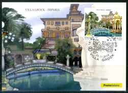 ITALIA / ITALY 2016 - Villa Grock - Imperia - Maximum Card Come Da Scansione. - Maximumkarten (MC)