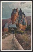 A2673 - Alte Ansichtskarte - Künstlerkarte Gemälde - Hans Rudolf Schulze - Burg Eltz - N. Gel - Schulze, Hans Rudolf
