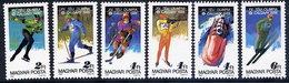 HUNGARY 1987 Winter Olympics, Calgary MNH /**.  Michel 3929-34 - Hungary