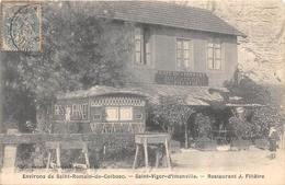 76-SAINT-VIGOR-D'IMONVILLE- ENVIRONS DE ST ROMAIN DE COLBOSC, RESTAURANT J. FILLÂTRE - Frankreich