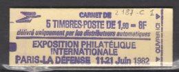 France Carnet N° 2187 C 1 Neuf ** - Carnets