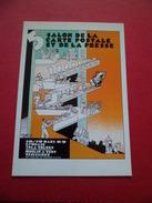 CP édition Comité Du Salon Numérotée 5ème Salon De La Carte Postale Et De La Presse  Vénissieux 18-19 Mars 1989 Neuve TB - Bourses & Salons De Collections