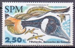 Saint Pierre And Miquelon (SPM) 2004 Migratory Birds, Duck, Goose (1v) MNH (M-419)