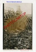WESTROZEBEKE-CARTE PHOTO Allemande-Guerre 14-18-1 WK-BELGIEN-Flandern-Militaria- - Staden