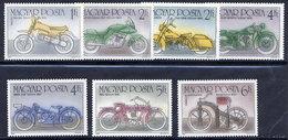 HUNGARY 1985 Motorcycles  MNH /**.  Michel 3798-804 - Hungary
