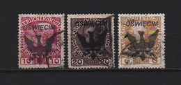 Old Austria - Overprint  Auschwits 1942-45 , Used-02
