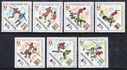 HUNGARY 1982 Football World Cup  MNH /**.  Michel 3538-44 - Hungary