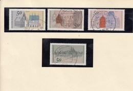 Mi.Nr. 860 - 863  Europäisches Denkmalschutzjahr - Gebraucht