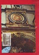 158 - Carte Maximum Rouen Gros Horloge - Cartoline Maximum