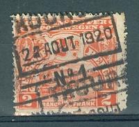 "BELGIE - OBP Nr TR 95 - Cachet   ""THOUROUT Nr 1"" (ref. 11.635) - 1915-1921"