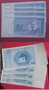 BOSNIE HERZEGOVINE Lot De 4 Billets De 0.5 Konvertibli Mark. - Bosnie-Herzegovine