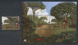 PORTUGAL  Mi.NR. 3623, Block 313 Europa - Der Wald -2011- MNH - 2011