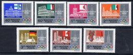 HUNGARY 1979 Pre-Olympic Spartakiad MNH /**.  Michel 3355-61 - Hungary