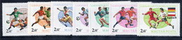 HUNGARY 1978 Football World Cup MNH /**.  Michel 3284-91 - Hongrie