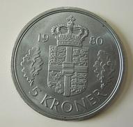 Denmark 5 Kroner 1980 - Danemark