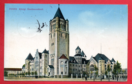 Pologne. Posen (Poznan). Königliches Residenzschloss. Feldpost Posen Octobre 1915 - Pologne