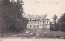 50 CARNEVILLE  Basse Normandie Pittoresque  Jolie Vue Sur Le CHATEAU Et Son PARC Timbre 1930 - France
