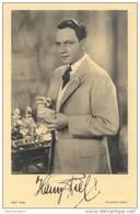 HARRY PIEL ORIGINAL AUTHENTIC AUTHENTIQUE AUTOGRAPHE AUTOGRAPH AUTOGRAFO - Autographs