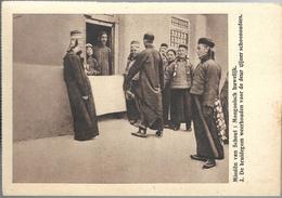 PRv872: Missiën Van Scheut: Mongoolsch Huwelijk 3 De Bruidegom Weerhouden Voor De Deur Zijner Schoonouders - Mongolie