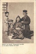 PRv869: Missiën Van Scheut: Mongoolsch Huwelijk 5.. De Nieuwe Haartooi Der Bruid. - Mongolie