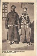PRv868: Missiën Van Scheut: Mongoolsch Huwelijk 8. Het Gelukkige Echtpaar - Mongolie