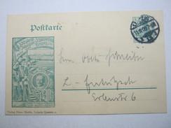 1906 , Privatganzsache Aus Leipzig  , Verschickt - Allemagne