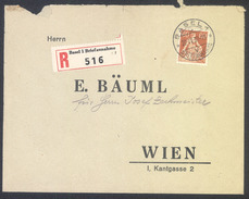 Switzerland, Letter Cover Registered Travelled 1939 Basel To Vienna B170410 - Lettres & Documents