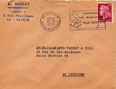 FRANCE - NICE 1970 - SAUVE GARDE LA FORET MEDITERRANEE - FEUX INTERDITS - Vegetazione