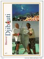 La Pêche à DJIBOUTI.  Belle Carte Postale De L'EXPO UNIVERSELLE MILAN 2015, Pavillon Djibouti, Adressée ANDORRA - Fischerei
