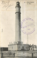 RARE CARTE DUNKERQUE AVEC CACHET 18em  REGIMENT ARTILLERIE ECHELON SUR ROUTE N°17  2em SECTION 1918 - Postmark Collection (Covers)