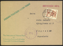 Austria, Letter Cover Censored Travelled 1952 To Zagreb B170410 - 1945-.... 2nd Republic
