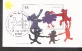 Bund Block 64 Für Uns Kinder Gestempelt Used - [7] West-Duitsland