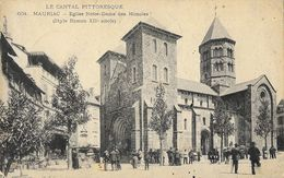 Le Cantal Pittoresque - Mauriac - Eglise Notre Dame Des Miracles (Style Roman) - Edition L. Roux - Mauriac