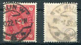 Deutsches Reich Michel-Nr. 206 Vollstempel - Geprüft - Germany