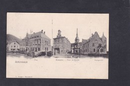 Schirmeck (67) Multivues Post Poste Marktplatz Place Du Marché Amstgericht ( Ed. Schmitt) - Schirmeck