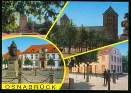 AK Deutschland Osnabrück - Mehrbildkarte Dom Denkmal - Osnabrück