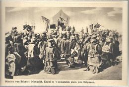 PRv865: Missiën Van Scheut: Mongolië. Kapel In 't Onmetelijke Plein VanBalgason - Mongolia