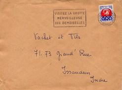 FRANCE - MONTPELLIER 1967 - VISITEZ LA GROTTE MERVEILLEUSE DES DEMOISELLES - Géologie