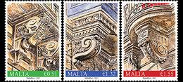 Malta / Malte - Postfris / MNH - Complete Set Balkons 2017 - Malta