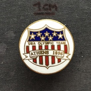 Badge (Pin) ZN005187 - National Olympic Committee NOC USA - Olympic Games