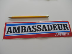 Autocollant - AMBASSADEUR APERITIF - Boissons - Autocollants