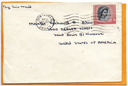 Limbe Rhodesia Nyasaland 1959 Cover Mailed - Rhodesia & Nyasaland (1954-1963)