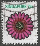 Singapore. 1973 Flowers And Fruits. 75c Used. SG 220 - Singapore (1959-...)