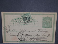 URUGUAY - Entier Postal De Montevideo Pour La France En 1894 - L 6995 - Uruguay
