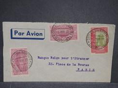 FRANCE / COTE DES SOMALIS - Enveloppe De Djibouti Pour La France En 1938 , Affranchissement Recto Et Verso - L 6997 - Lettres & Documents