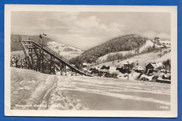 Deutschland; Geising; Wintersportplatz; Skisprungschanze; Bild1 - Geising