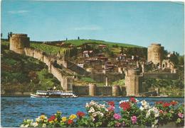 V633 Istanbul - Rumeli Hiseri Ve Bogaziçi / Non Viaggiata - Turchia