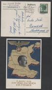 ALLEMAGNE - III REICH / 1938 ENTIER POSTAL DE PROPAGANDE ILLUSTRE VOYAGE (ref 4307) - Storia Postale
