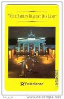 Germany - S 103A/93 - Postdienst  - Brandenburger Tor Berlin - Chip Card - Germany