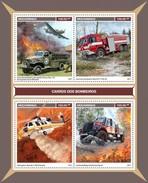 Mozambique - Postfris / MNH - Sheet Brandweerauto's 2017 - Mozambique